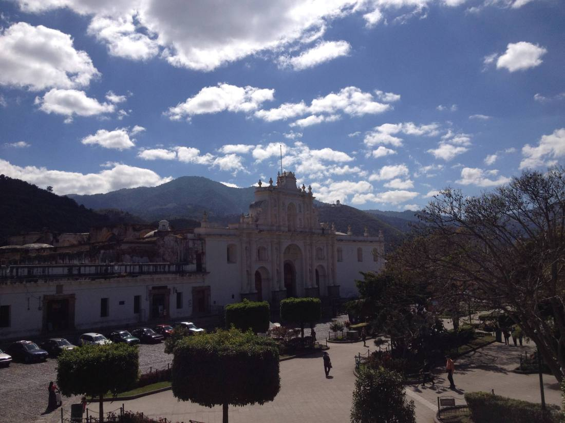 Cathedral in Antigua Guatemala