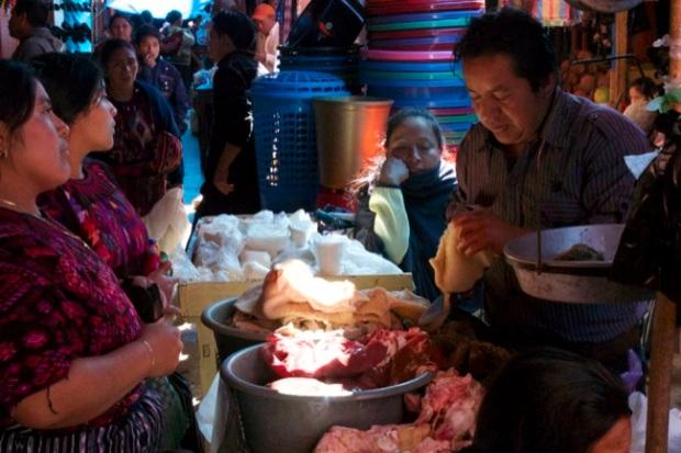 A butcher