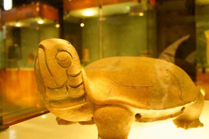A Mayan tortoise.