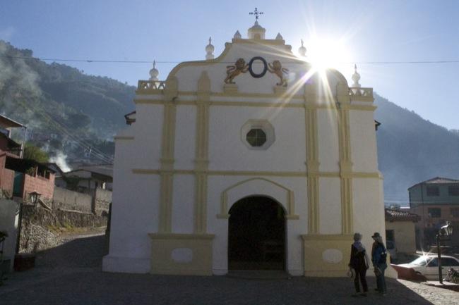The church at Santa Catarina