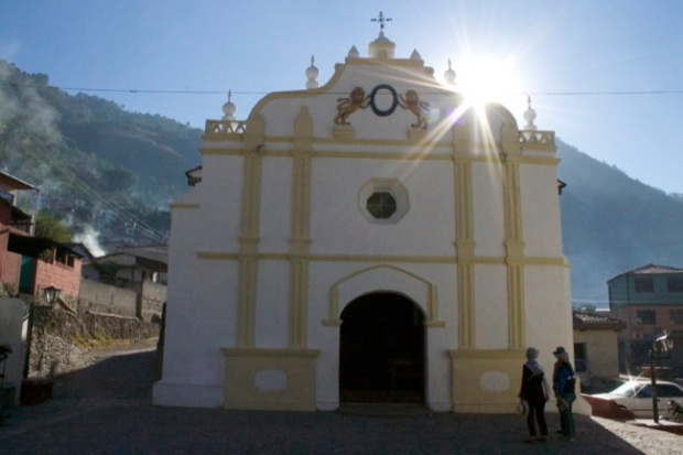 The church at Santa Catarina