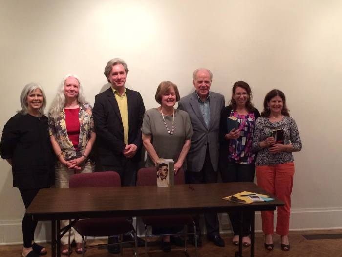 The Bloomsday readers at the Rensselaer County Historical Society