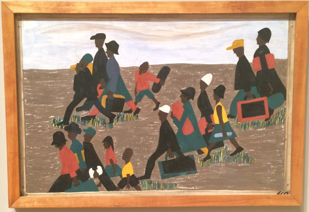 Highlights of Jacob Lawrence's Migration Series at MoMA (2/2)