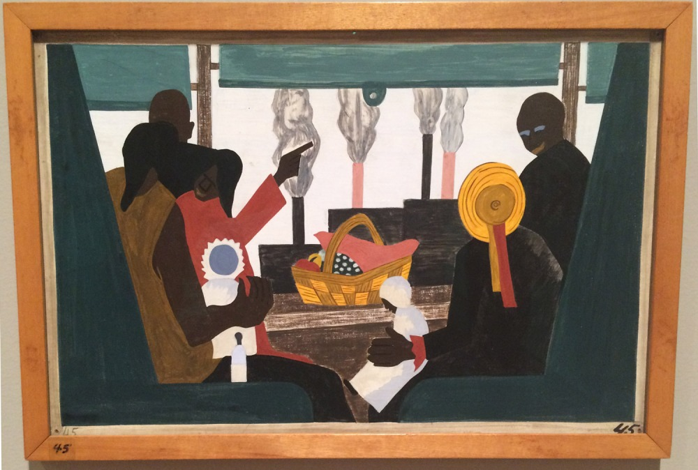 Highlights of Jacob Lawrence's Migration Series at MoMA (1/2)