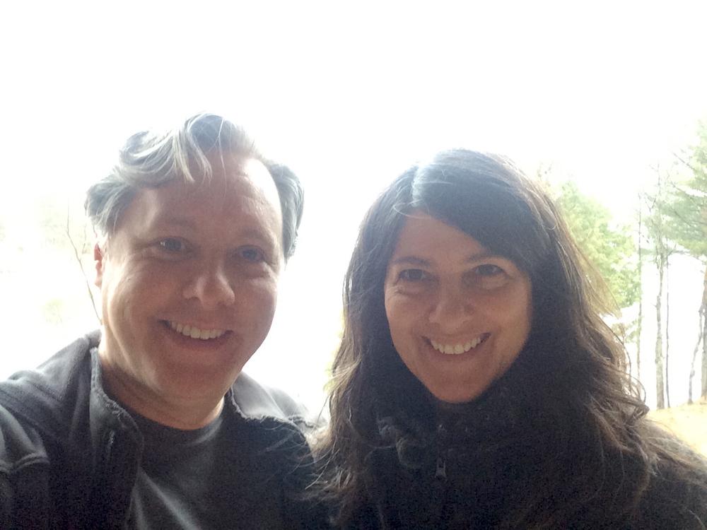 Michael and Deborah in Lake Placid