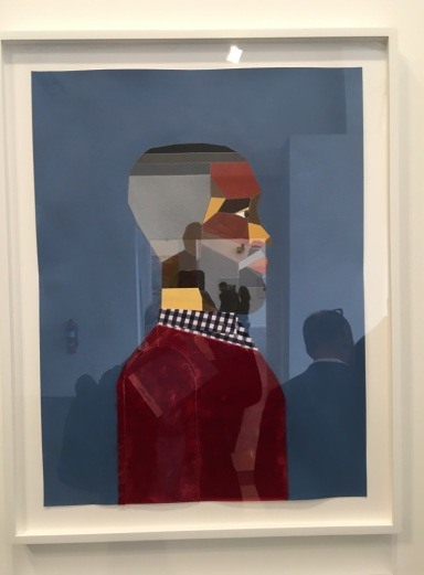 Derrick Adams at Tilton Gallery at Independent