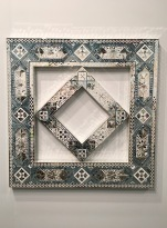 Monir Farmanfarmaian at Haines Gallery, Armory Show