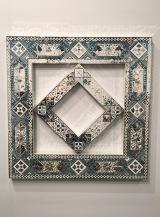Monir Farmanfarmaian at Haines Gallery, Armory Show