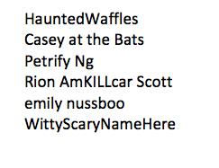 ad7ba84fdb81 Twitter names as Halloween costumes   Michael Janairo